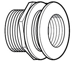 Threaded Bulkhead Fittings